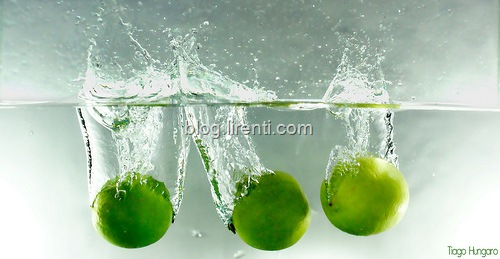 lemon-High Speed Photography